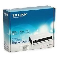 Switch 8 porturi,10/100Mbps TP-LINK  TL-SF1008D