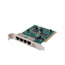 Router card PCI 4-Port 10/100Mbps