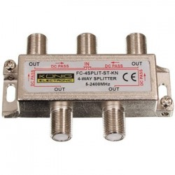 Splitter 4 cai power pass