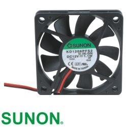 Ventilator 60x60x10mm DC12 KD1206PFS2 2fire