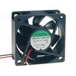 Ventilator 60x60x25 EB60251S1-999  DC 12V