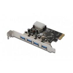 Adaptor PCIe-USB 3.0 DIGITUS 4 porturi