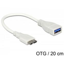 Cablu adaptor USB3.0 A mama-micro B 3.0 OTG