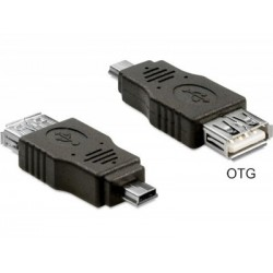 Adaptor USB A mama-mini B Delock OTG
