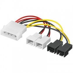 Cablu alimentare Molex-2x3 pin 12V + 2x3 pin 5V
