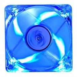 Ventilator 80x80x25mm  12V  DeepCool  led albastru