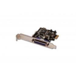 Adaptor PCIe la1Paralel si 2Seriale DIGITUS DS-30040-2