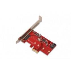 Adaptor PCIe - SATA III+ M.2NGFF Digitus