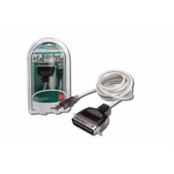 Convertor USB-Paralel (USB A plug/C36M) Digitus