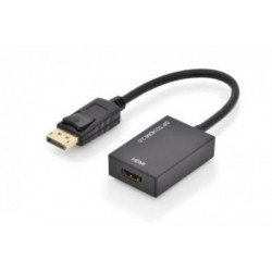 Convertor 4K DisplayPort tata - HDMI mama ver.2.0 Ednet