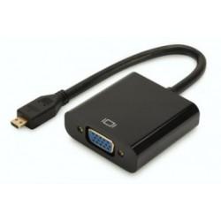 Convertor micro HDMI la VGA Digitus DA-70460