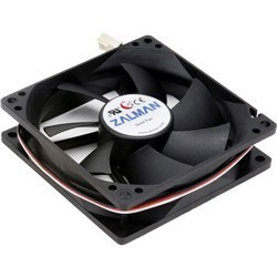 Ventilator 90x90x25 12V,3fire ZM F2 Plus Zalman