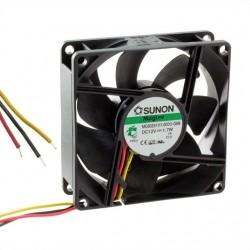 Ventilator 80x80x25 DC12V,3fire,maglev ME80251V1-G99 SUNON