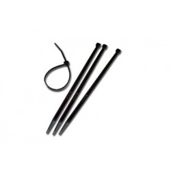 Cravata cablu CV140BK 140x3.2 set 100 buc negru