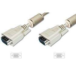 Cablu SVGA, 15tata-15tata, 10 m Digitus