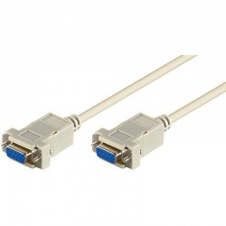 Cablu serial D-SUB 9mama-9mama, 5 m 1:1