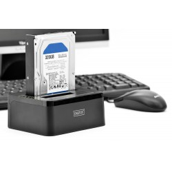 Docking Station HDD 2.5+3.5 la USB 3.0 Digitus