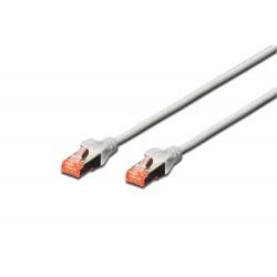 Patch cord SFTP- 25m gri cat.6 CU,LZSH Digitus