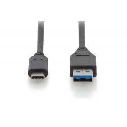 Cablu USB 3.1 type C Gen2 - USB 3.0 A tata 1m