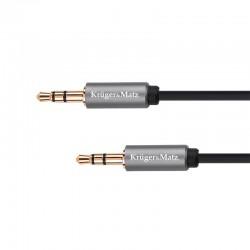 Cablu 3.5 tata - 3.5 tata 1m Kruger&Matz