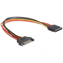 Cablu prelungitor alimentare SATA 30cm Delock