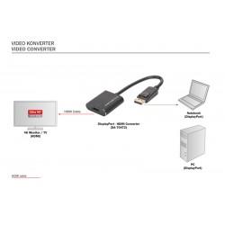 Convertor 4K2K/60Hz Display Port - HDMI Digitus