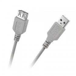 Cablu USB 2.0 A tata -A mama 5m gri VCOM