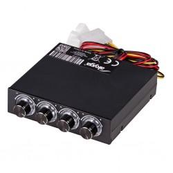 """Controler turatie pentru 4 ventilatoare bay 3.5"""" AKYGA"""