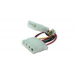 Cablu alimentare Molex - Molex+3pini ventilator 12V
