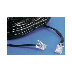 Cablu telefonic 6p4c - 7.5m