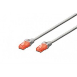 Patch cord -  0.5m gri cat.6e Digitus