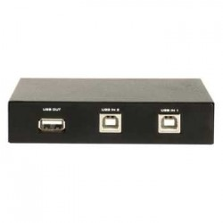 Comutator USB 2 PC/1 periferice mecanic CMP-SWITCH41