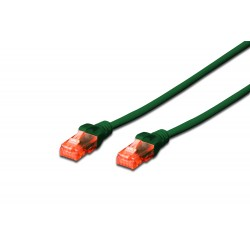 Patch cord - 10m verde CU LSZH cat.6 Digitus