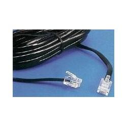 Cablu telefonic 6p4c - 10m