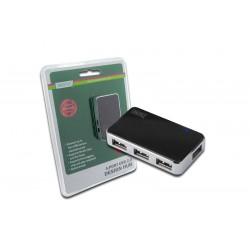 HUB USB 2.0, 4 Porturi cu alimentare externa Digitus