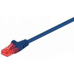 Patch cord - 0.5m albastru cat.6