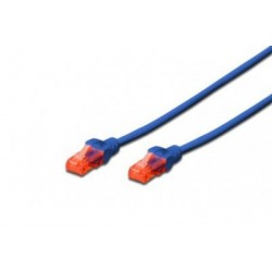 Patch cord - 0.5m albastru cat.6 Digitus
