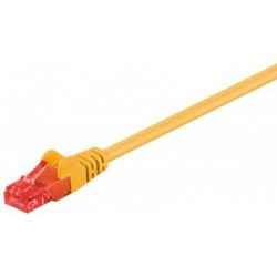 Patch cord - 0.5m galben cat.6
