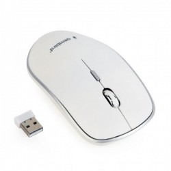 Mouse optic wireless Gembird 2.4GHz 1600dpi MUSW-4B-01-W