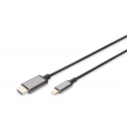 Cablu adaptor USB 3.1type C - HDMI 4K/30HZ 1.8m