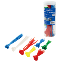 Set cravate 300buc.diverse culori Logilink
