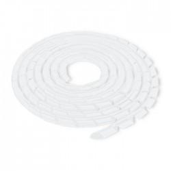 Spirala matisat cabluri 14mm transparent Qoltec