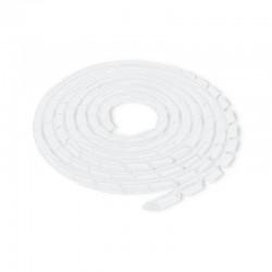 Spirala matisat cabluri 6mm transparent Qoltec