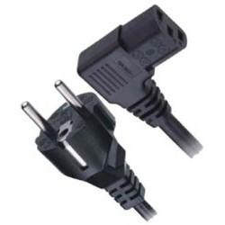 Cablu alimentare PC 3x1mm 5m  in unghi mufa