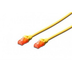 Patch cord - 1m galben cat.6 Digitus