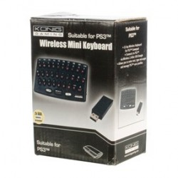Mini tastatura Wireless pentru PS3 GAMPS3-MINIKB
