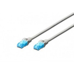 Cablu UTP Digitus Patch cord cat.5e 0.25m gri