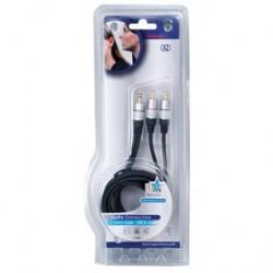Cablu 3.5 tata - 2RCA tata 1.5m HQSS3458/1.5