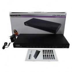 Multiplicator-Splitter HDMI 1.3b 2-8 KONIG KN-HDMISPL35