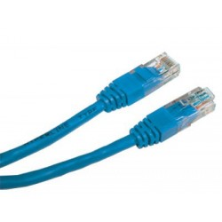 Patch cord - 10m albastru cat.5e